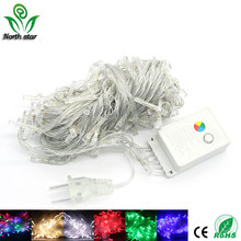 10M/20M 100/200 LEDs Led String Light Waterproof Holiday Christmas Wedding Garden Party Decoration String Decorative Light(China)