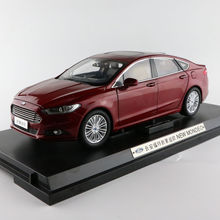 1:18 Scale Diecast Model Car for Ford Mondeo Fusion 2013 Red SUV Alloy Toy Car Collection Gifts(China)
