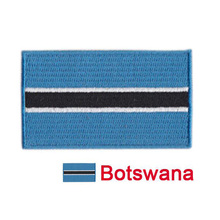 10pcs New Products Hot sale Botswana National flag Embroidery Apparel Or Decal Embroidered