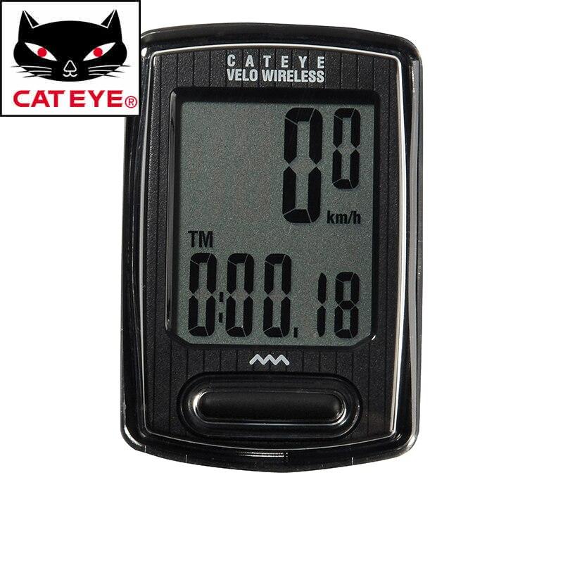 CATEYE Multifunction Bike Bicycle Wireless Stopwatch Computer Cycling Riding LCD Back Light Backlit Sensor Odometer Speedometer<br>