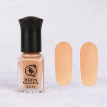 6.5ml BORN QUEEN Light Cinnamon Matte Dull Nail Polish Fast Drying Long-lasting Nail Art Varnish Lacquer Manicure Nail Color(China)