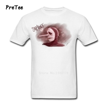 Slipknot Men's T Shirt Pure Cotton Short Sleeve Round Neck Tshirt Clothes Adult Rock Star 2017 Modern Metal T-shirt For Men