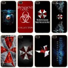 H216 Resident Evil Umbrella Transparent Hard Thin Case Cover For Apple iPhone 4 4S 5 5S SE 5C 6 6S 7 8 X Plus