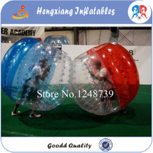FREE Shipping Football Game inflatable bumper ball Inflatable Human Hamster Ball 1.0m Diameter Outside Toy Balls