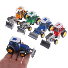 HOT! Promotion! Alloy farmer engineering van car educational toys tractor scale models children's toy(China)