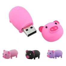 Small pig 64GB 32GB usb 2.0 cable16GB drive download 8GB usb disk pen 4G usb flash drives thumb pendrive u disk pet memory stick