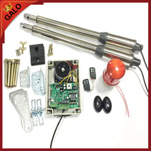 galo Electric Swing Gate Opener Motor 300 KG door With 2 Remote Control with 1 pair of photocells 1 alarm light(China)