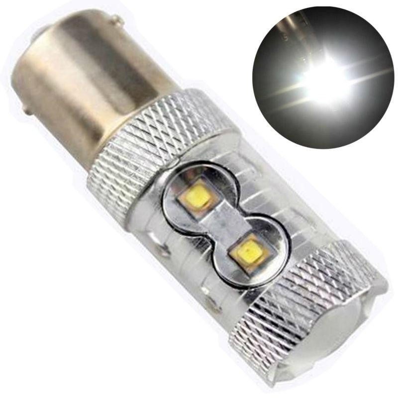 Car Styling! 2PCS BA15S 1156 BAY15D 1157 P21W 50W Brake Lights12V White Light Bulbs Car Turn Signal Reverse Tail Light<br><br>Aliexpress
