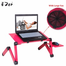 Adjustable Portable Laptop Table Stand Lap Sofa Bed Tray Computer Notebook Desk bed table with Mouse Board ZW-CD09