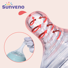 Buy SUNVENO Nipple baby feeding bottle nipples Baby silicone Replacement Nipples S/M/L Size Baby Breast Feeding Nipple