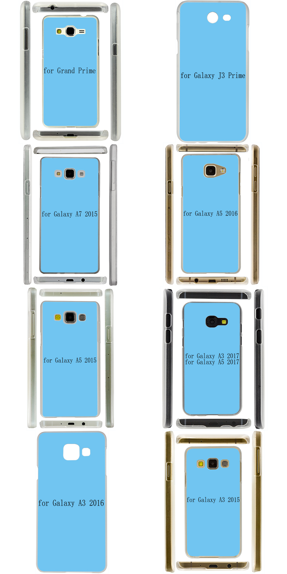 Lavaza Cool Band Daft Punk Cover Case for Samsung Galaxy A3 A5 J5 2015/2016/2017 Cases for J3 J5 Grand Prime J7