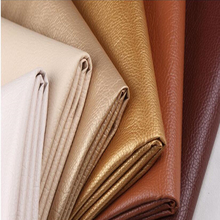 1pcs = 50cm * 69cm Faux Leather Fabric for Sewin Lychee PU artificial leather car bedside backpack decorative DIY material