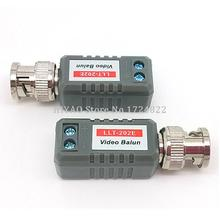 10pcs(5Pairs) Video Balun High Definition Twisted BNC To UTP Cat5/5e/6 CCTV Video Balun Passive Transceivers up to 3(China)