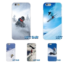Snow Or Die Ski Snowboard Soft Silicone TPU Transparent Phone Cover Case For Huawei G7 G8 P7 P8 P9 Lite Honor 4C Mate 7 8 Y5II
