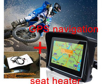 Motorcycles Heating for seat outdoor sport heating motorcycle scooters rider heated seats and navigation gps for motorcycle