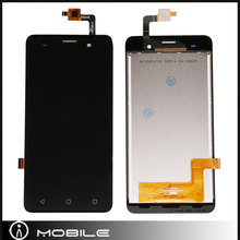 10pcs/lot Mobile Spare Parts LCD Touch Screen Digitizer for Wiko Jerry Black Color Free Shipping by DHL EMS(China)
