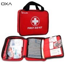 OXA 100 pcs First Aid Kit Multifunction FDA Certified Outdoor Emergency Kit bag sport home Travel camping survival medical kits