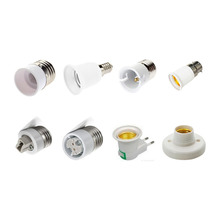 Lamp Holder Socket Converter E27 E14 G9 G4 B22 MR16 Base Mutual Conversion Fireproof Socket Adapter For Blub Lamp