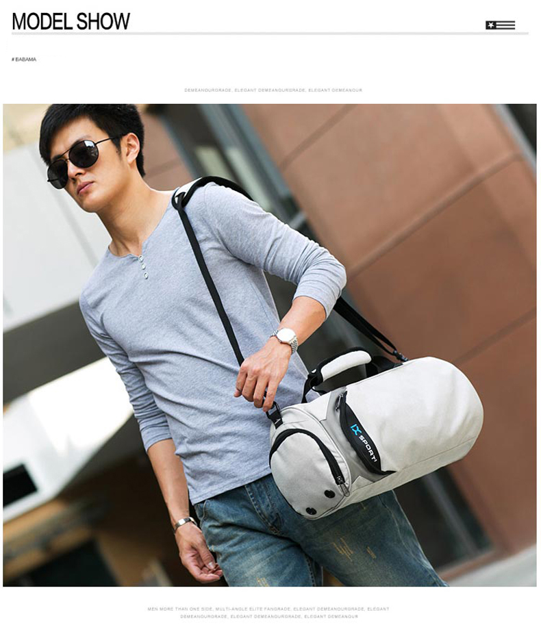 Waterproof Sport Bags Men Large Gym Bag Women Yoga Fitness Bag Outdoor Travel Luggage Hand Bag with Shoe Compartment 2019 (10)