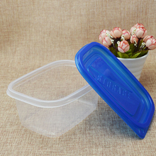 280ml Disposable Lunch Boxes Fruit Storage Boxes with Lid Cover Transparent Meal box Takeaway Packaged Fast Food Boxes