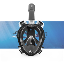 RKD Underwater Scuba Snorkel Diving Mask Anti Fog Full Face Diving Mask Detachable Dry Snorkeling Masks Set For GoPro Camera(China)