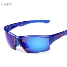 LANYUE Brand 2017 Glasses Sports Sunglasses UV 400 Polarized Lens for Fishing Golfing Driving Running Eyewear