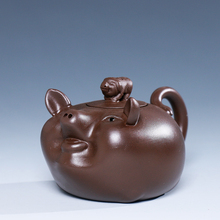 Free Shipping pot Yixing teapot Red Mud Hi Quality Zodiac Tiger Chinese Tea Set Chinese Style Special Off