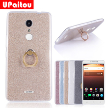 Buy UPaitou Glitter Bling Case Alcatel A3 XL Case Cover Ring Holder Soft TPU Case Coque Alcatel A3XL Phone Back Cover Case for $2.35 in AliExpress store
