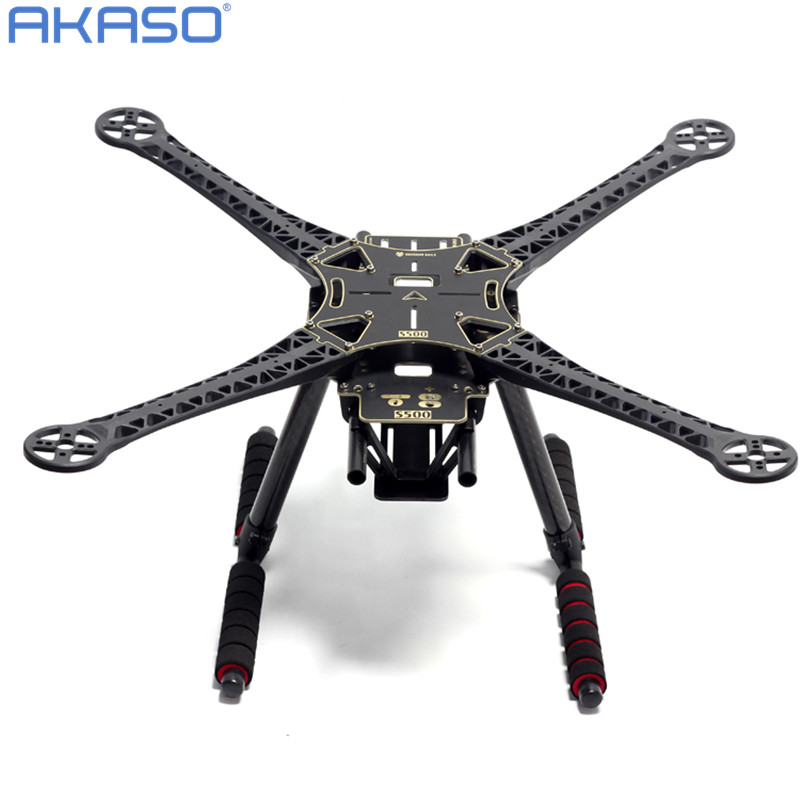 500mm S500 S520 Quadcopter Multicopter Frame Kit PCB Version with Carbon Fiber Landing Gear for FPV Quad Gopro Gimbal Upgrade<br>