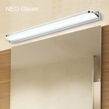 Free shipping L400-1200MM mirror light Modern makeup dressing room bathroom led mirror light fixtures home decoration lighting(China)