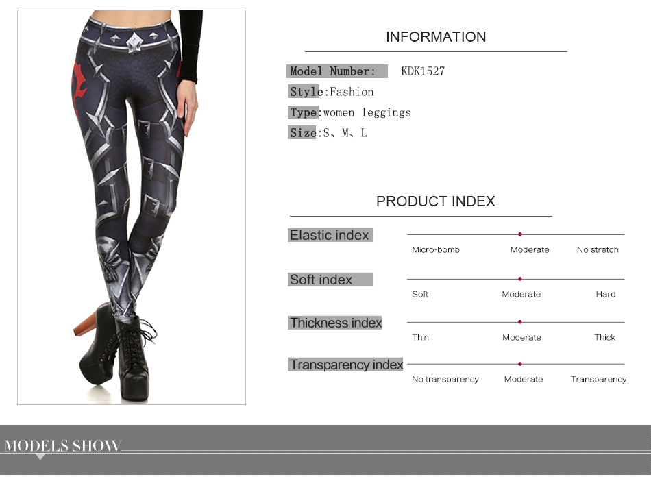 17 New Design Spring Summer WOW OF THE HORDE Legins Popular Fashion Leggins Printed Women Leggings 14