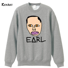 earl Tron Cat Upside Down Cross GolfWang Odd Future Logo OFWGKTA skateboard woman cotton fleece Sweatshirts