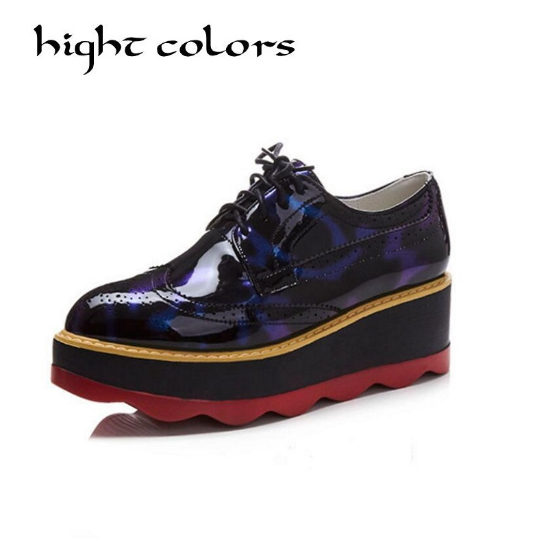 Spring&amp; Autumn New Arrival Women Shoes Fashion Women Wedge Pumps Casual Shoes Women Red Thick Heel Platform Heels Shoes EUR 42<br>