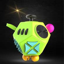 2017 New Style Girl Boys Six Sided Fidget Cube Toys Fashion Funny Reduce Stress Magic Cube(China)
