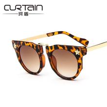 Curtain Leopard Child Baby goggle sunglass Safety Coating Sun Glasses UV400 Eyewear Shades Infant oculos de sol shade sun gafas