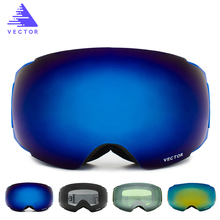 Anti-fog Waterproof Windproof Ski Goggles Light Ski Glasses Skiing Snowboard Snow Goggles Sport Lenses Eye Wear YIO0179-5(China)