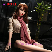 Hot Sales 140 CM Height Real Silicone Japanese Sex Dolls Realistic Sexy Female Mannequin Beautiful Makeup For Men Free Shipping(China)