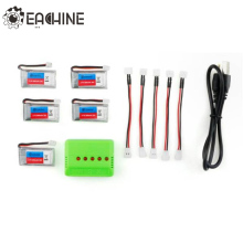 Hot Eachine E011 3.7V 260MAH 30C RC Toys Battery Charger Battery Cable Set For RC Quadcopter Spare Parts