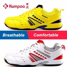 Kumpoo Badminton Shoes Antiskid Breathable Super Light Cushioning Sports Sneaker for Male and Female KH-19 L791(China)