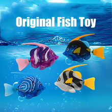 The Original Fish Toy Swim in water Fish Toys For Cat(China)