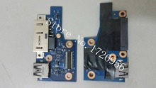 Genuine original FOR lenovo S5 YOGA 15 DC POWER USB BOARD LS-B595P left right hinge test good free shipping