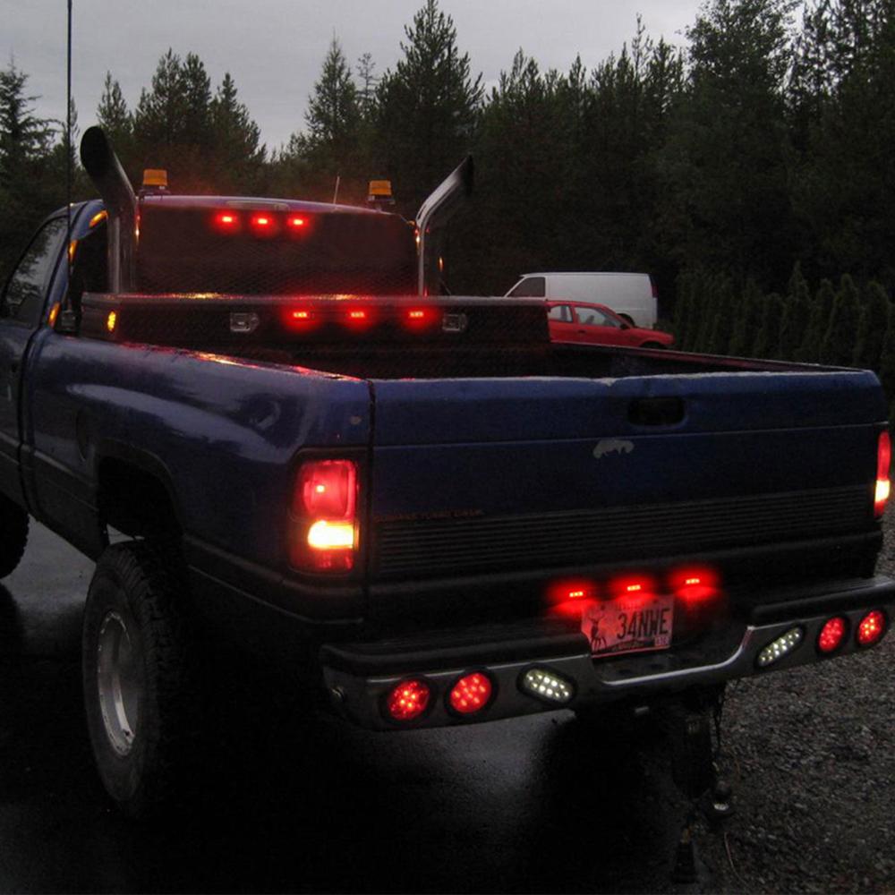 truck Trailer rear lights