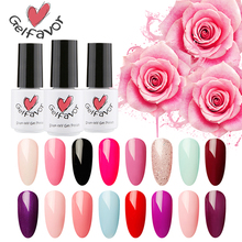 Gelfavor Pure Color 1323-1864 Primer Gel Nail Polish 7ML Nail Gel Polish UV LED Gel Semi Permanent Nail lacquer gel