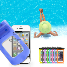"Waterproof Pouch Dry Case For iPhone 5 SE 6 6s Galaxy Huawei Universal 4.8""-6.0"" Mobile Phone Camera Underwater Water proof Bag"