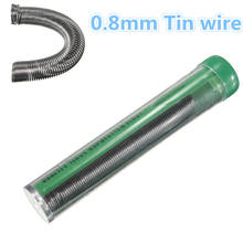 Brand New 19g 0.8mm 63Sn/37Pb Tin Solder Welding Iron Wire Lead Rosin Core Pen Tool Soldering 2% Flux Reel Tube(China)