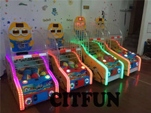 children coin operated basketball games machine for amusement park/shopping mall CIT-GM010A(China)