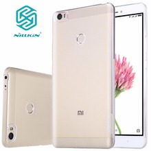 mi max case Nillkin Transparent Clear Soft silicon TPU Protector case for xiaomi max cover case 6.44 inch for xiaomi max pro(China)