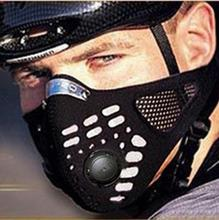 2016 Activated Carbon Air Filter Mask Caribbean Pirates Bicycle Motorcycle Cycling Mask Bike Cycle Half Face Dustproof Masks