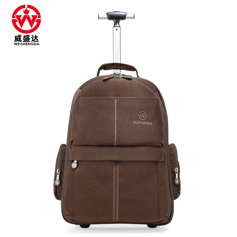 19 20 Inch Women travel trolley luggage bag wheels trolley wheeled bag Suitcase men Business Rolling bag on wheels Suitcase(China (Mainland))