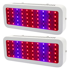 2Pcs/Lot Led Grow Light 300W Full Spectrum For indoor Medical plants Grow Hydroponic Systems Flowering Plant Bloom
